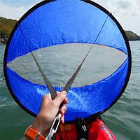 42 дюймов Подветренный ветер Paddle Popup Board Каяк Парус Парус Парус Аксессуары ПВХ Синий