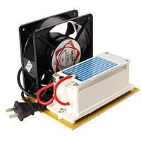 AC220V 3.5g/7g/10g/15g генератор озона озонатор воздуха керамический стерилизатор пластина с озоном вентилятором