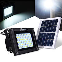 Работающий на солнечной энергии 54 LED датчик наводнений света водонепроницаемый напольный светильник лампа свет безопасности
