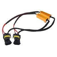 H11 50w 60р тумана автомобиля свет LED расшифровывает Сингаль нагрузочный резистор CANbus ошибка подавитель