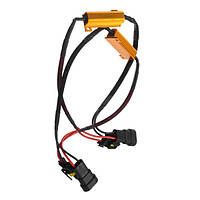 9005 9006 HB3 HB4 LED 50w 60р расшифровывает тумана автомобиля индикатор ошибки подавитель одиночный сопротивление
