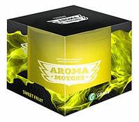 Grass Ароматизатор гелевый «Aroma Motors» Sweet Fruit в блистерной упаковке(круглый) 100мл