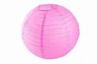 Бумажный подвесной шар розовый, 45 см
