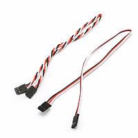 22AWG 60 сердечника 30см мужчины к мужчине Futaba подключить серво удлинитель провода кабеля