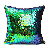 40X40см русалка изменение волшебный цвет моды ткани блесток наволочка домашнего декора