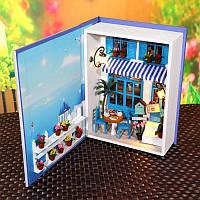 Hoomeda b003 летние каникулы комплект поделки кукольный театр коробка коллекция кукла дом детский подарок