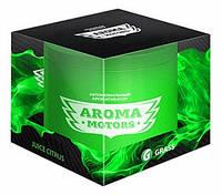 Grass Ароматизатор гелевый «Aroma Motors» Juice Citrus в блистерной упаковке (круглый) 100мл