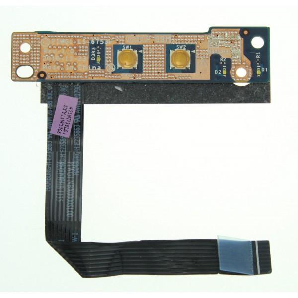 Оригинальная плата Для LENOVO G570, G575 Кнопка Питания Коммутатор Piwg1 LS-6753P NBX000SL00