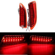 2 штук задний хвост LED бампер тормоза перестают работать свет для Toyota Corolla Lexus CT200h, фото 2