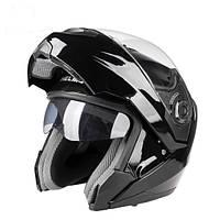 Открытый противотуманный шлем Anti-UV с двумя объективами для всадников