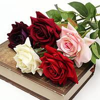 Одной ткани розы искусственного поддельные цветок букет свадебного банкета украшение дома