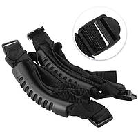 2 штук черная передняя Grab Бар ручки захвата аксессуар для всех Jeep Wrangler