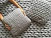 Вязаная декоративная подушка 100% шерсть мериноса