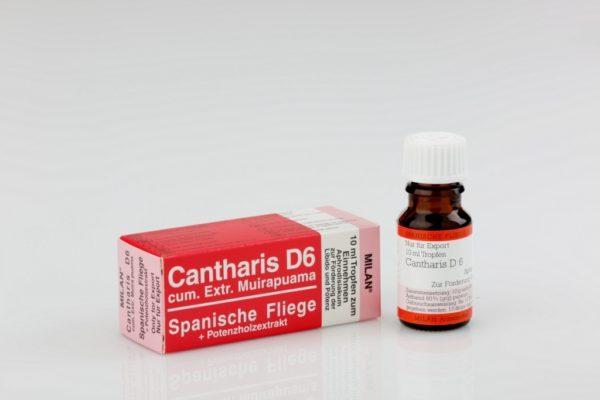 Капли CANTHARIS D6 (для обоих)