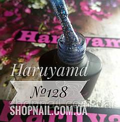 Гель-лак Haruyama №128 (серо-голубой с голографическими блестками разного размера), 8 мл, фото 2