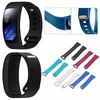 Складывающиеся замена силиконовые часы ремешок группа для Samsung шестерня FIT 2