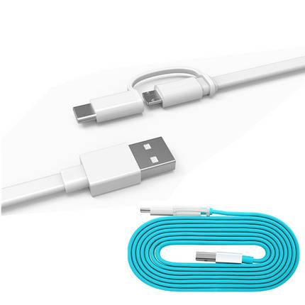 1.5м 2 в 1 Micro USB & типа с 2a кабель для Huawei оригинал Xiaomi Samsung Meizu, фото 2
