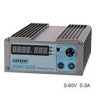 GOPHERT CPS-6003 60V 3A DC 110V / 220V High Precision Компактный цифровой Регулируемый импульсный источник питания