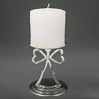Подсвечник с сердечками, оригинальные подсвечники для свадебных свечей