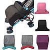 Детская коляска footmuff детей ветрозащитной утолщение сплошной цвет детская коляска footmuff
