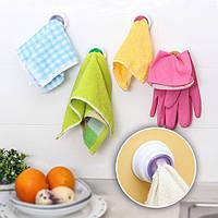 Держатель для клипсы для мытья посуды Dishclout Storage Rack Kitchen Ванная комната Съемная ручка Полотенце Вешалка
