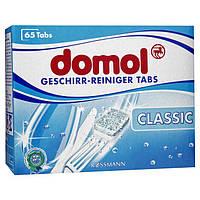 Domol Geschirr-Reiniger Tabs Classic - Таблетки для посудомоечной машины классические, 65 таблеток, 1,17 кг