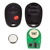 3b дистанционный ключ дистанционный автомобиль ФОБ обломок приемоответчика + режиссерский ключ зажигания для Тойота