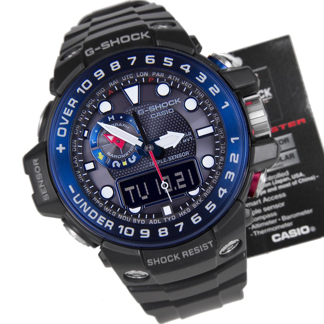 Часы Casio G-Shock Gulfmaster GWN-1000B-1В