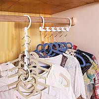 8шт пространство заставки чудо вешалка магия крючок для одежды организатор шкаф многофункциональный стойку