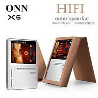 ONN X6 8gb без потерь HiFi MP3 24bit/192kHz двойной бас динамик TFT экран APE/FLAC/WAV/WMA/OGG/MP3