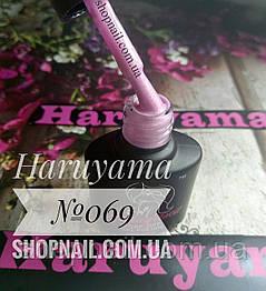 Гель-лак Haruyama №069 (лиловый с золотистым микрошиммером), 8 мл, фото 2