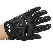 Сенсорный экран полный ветрозащитные против скольжения пальцев перчатки для верховой езды лазания, фото 2