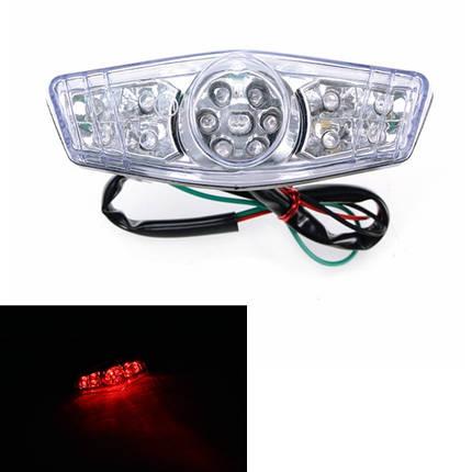 12V мотоцикл Retro Mini LED Задний фонарь для Halley Prince Cruise Wildfire, фото 2
