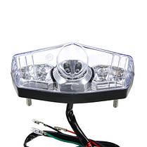 12V мотоцикл Retro Mini LED Задний фонарь для Halley Prince Cruise Wildfire, фото 3