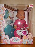 Кукла-пупс Baby Born, Оригинал, 10 функций. 8006-14-2