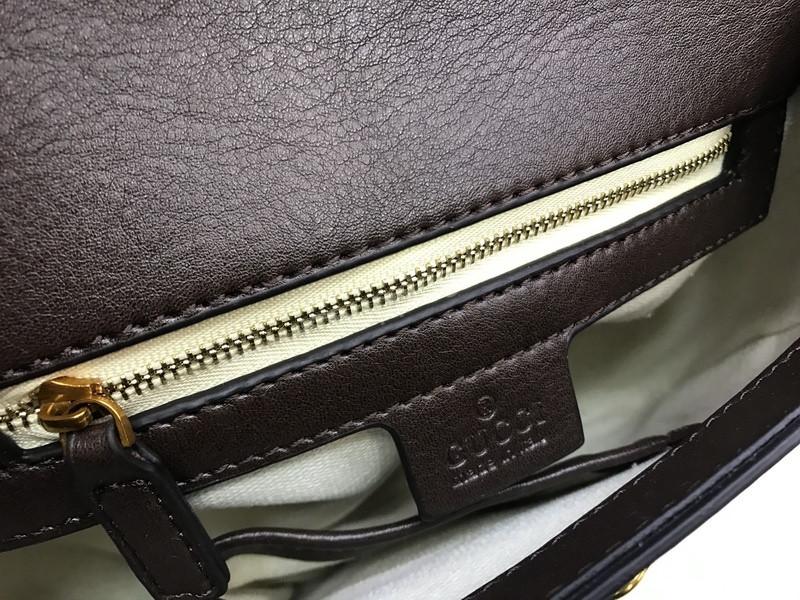 7e3fd5195515 Стильная женская сумка (сумочка ) Gucci big коричневая 1533, цена 2 700  грн., купить в Харькове — Prom.ua (ID#623015032)
