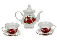Чайный набор Троянда Маки