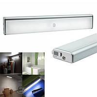 Беспроводной датчик света и движения PIR ночь свет портативный USB аккумуляторная лампа для шкафа шкаф