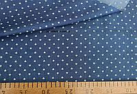 Джинсовая ткань рубашечная (сердичка сред.светл)