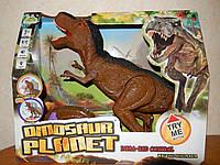 Динозавр на радіокеруванні RS 6123. Ходить. Крутить головою. Світло, Звук. Розмір 30см на 52см, фото 1