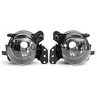 2pcs LED автомобиль передние противотуманные фары оболочки дневного ходового огня рама для BMW e60 e90 e63 E4