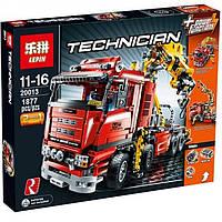 "Конструктор Lepin 20013 ""Грузовой кран"" (аналог Lego Technic 8258), 1877 дет"