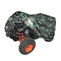 Четырехъядерный трактор АТВ крышка анти-УФ водонепроницаемый камуфляж теплозащитной XL