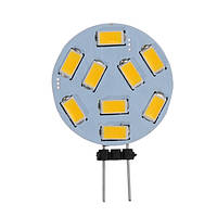1.2w LED украшение автомобиля домашняя атмосфера света G4 270lm 9SMD 5730