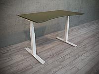 Эргономичный компьютерный стол Ultra ERGO регулируемый по высоте для работы стоя-сидя с двумя моторами
