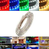 1m 3.5W водонепроницаемая IP67 SMD 3528 60 LED полосы веревку свет рождественской вечеринки на открытом воздухе AC 220V