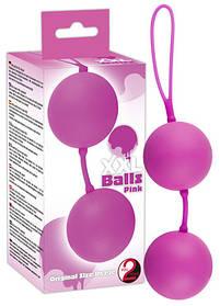 Кульки XXL рожеві з внутр.ротацією