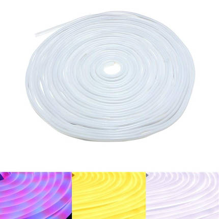 30m 2835 СМД гибкие LED мягкие неоновые веревка полосы света Xmas Открытый водонепроницаемый 220v, фото 2