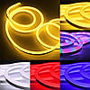 30m 2835 СМД гибкие LED мягкие неоновые веревка полосы света Xmas Открытый водонепроницаемый 220v, фото 4