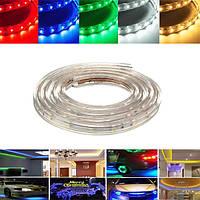 2m 7W водонепроницаемая IP67 SMD 3528 120 LED полосы веревку свет рождественской вечеринки на открытом воздухе AC 220V